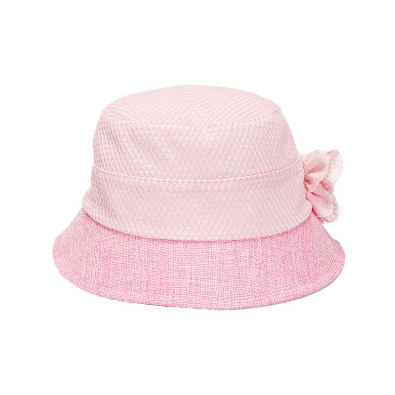 歌瑞凯儿女童花朵公主帽GB161-056A粉46cm顶