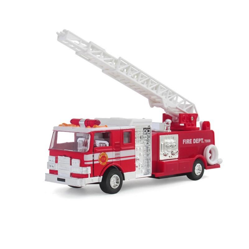 蒂雅多车模美国消防车(款式随机发放)