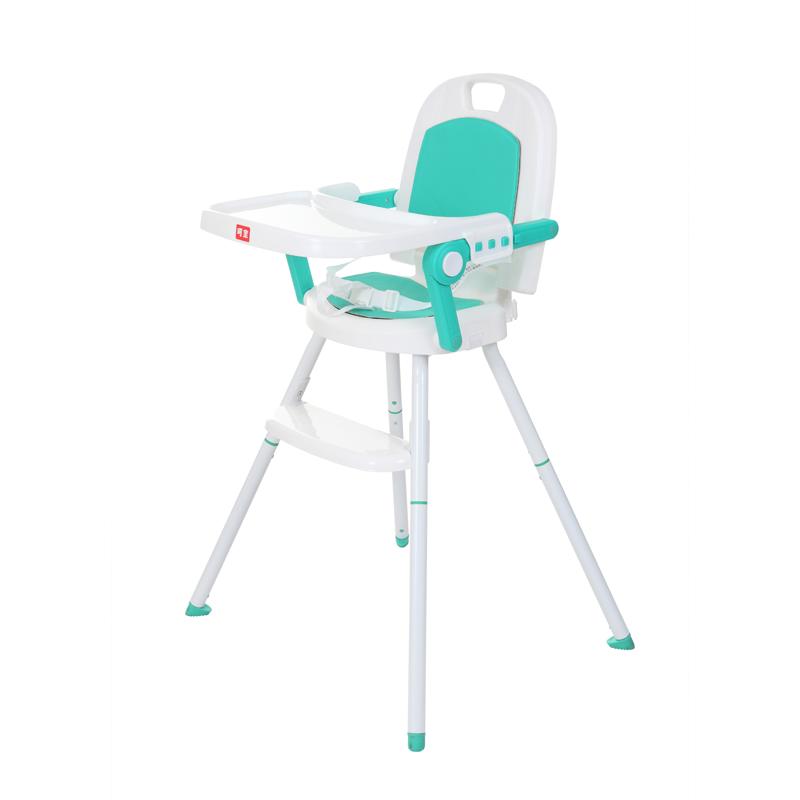 呵宝三合一便携儿童餐椅 蒂芙尼蓝