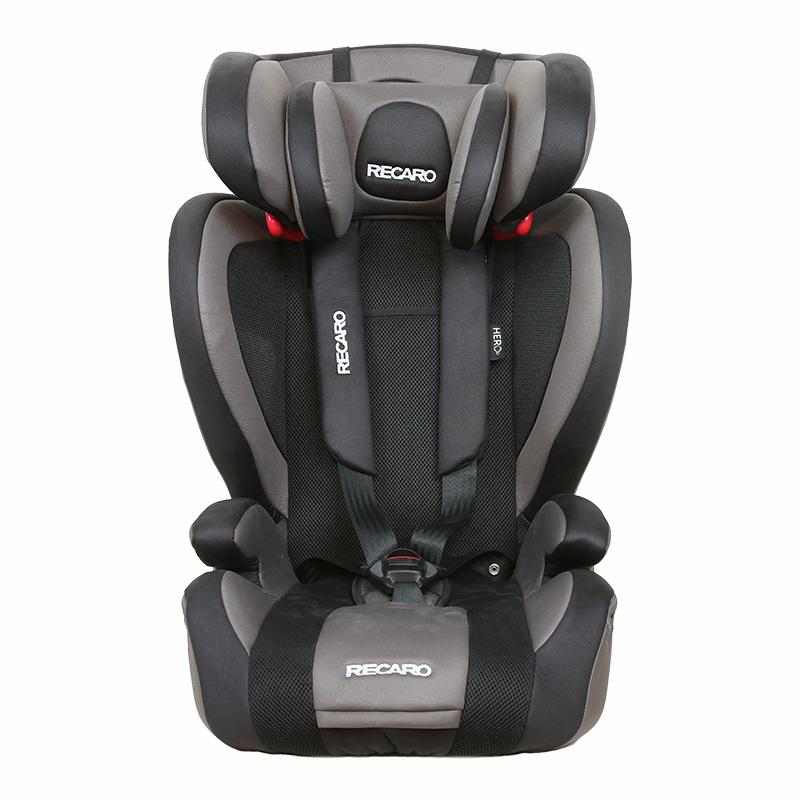 Recaro儿童安全座椅宝宝座椅布加迪(灰黑色)