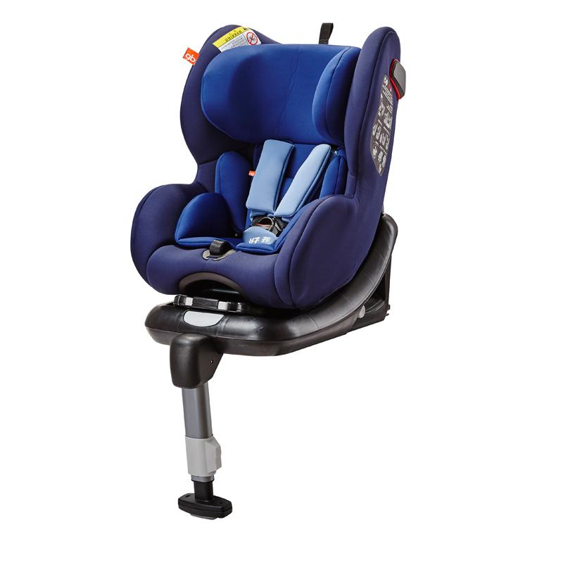 gb好孩子高速安全汽座儿童汽车安全座椅宝宝座椅CS769-N016(蓝色+ISOFIX)