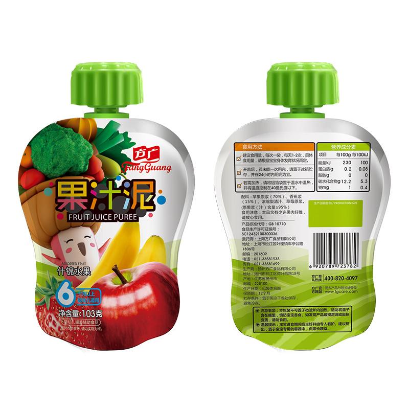 方广什锦水果果汁泥袋装103g6月以上