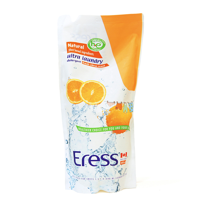 伊瑞丝Eress加拿大进口高效浓缩婴儿洗衣液橙)600ml