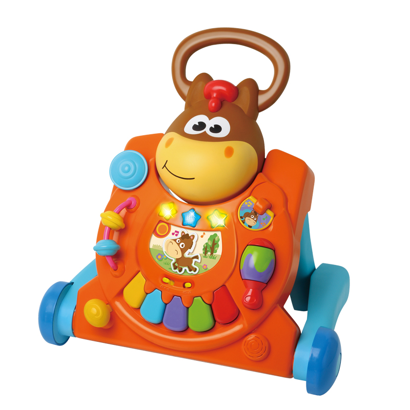 B kids 蓝盒宝宝 可爱小马推车 适用于9个月及以上 003993