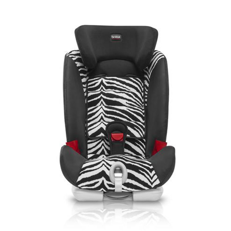 宝得适Britax汽车用儿童安全座椅isofix9-36kg宝宝百变骑士机灵小斑马