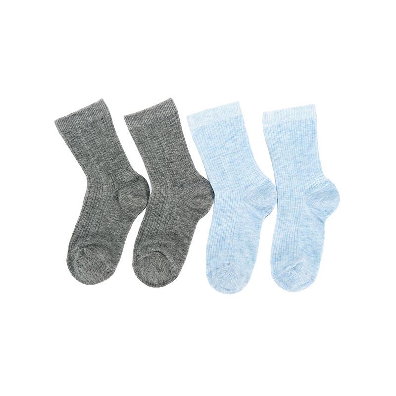 歌瑞贝儿纯色系列男童中袜(2双装)