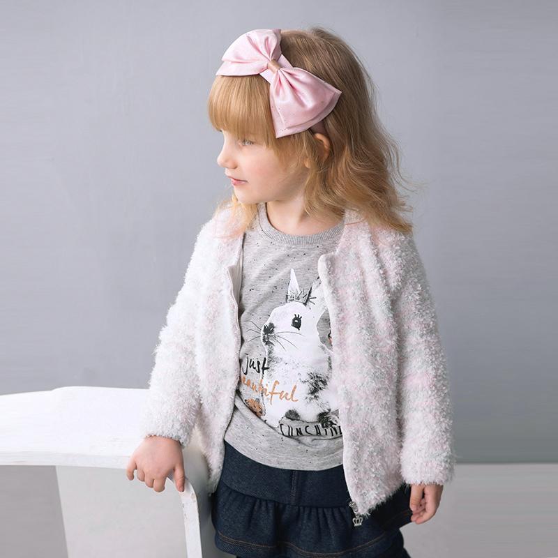歌瑞家(可爱精灵)女童毛织外套花色