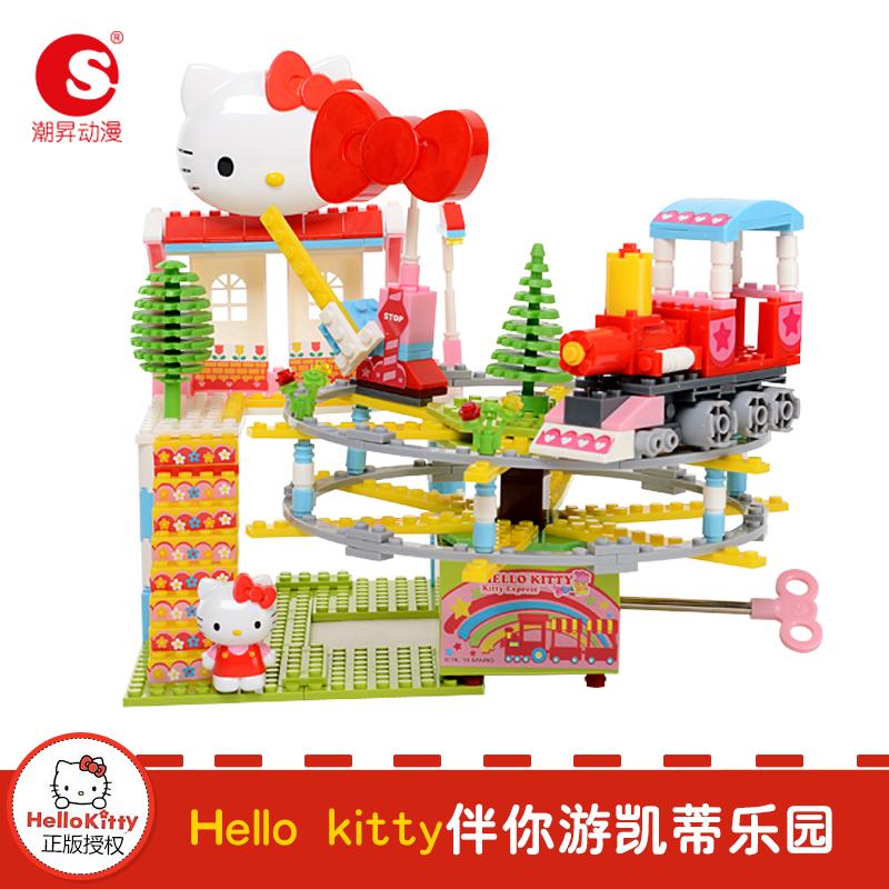 潮昇动漫Hello Kitty凯蒂乐园 动感火车(音乐版)
