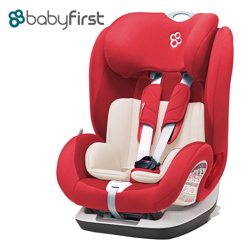 宝贝第一(Babyfirst)儿童汽车安全座椅宝宝座椅V505A铠甲舰队尊享版经典红