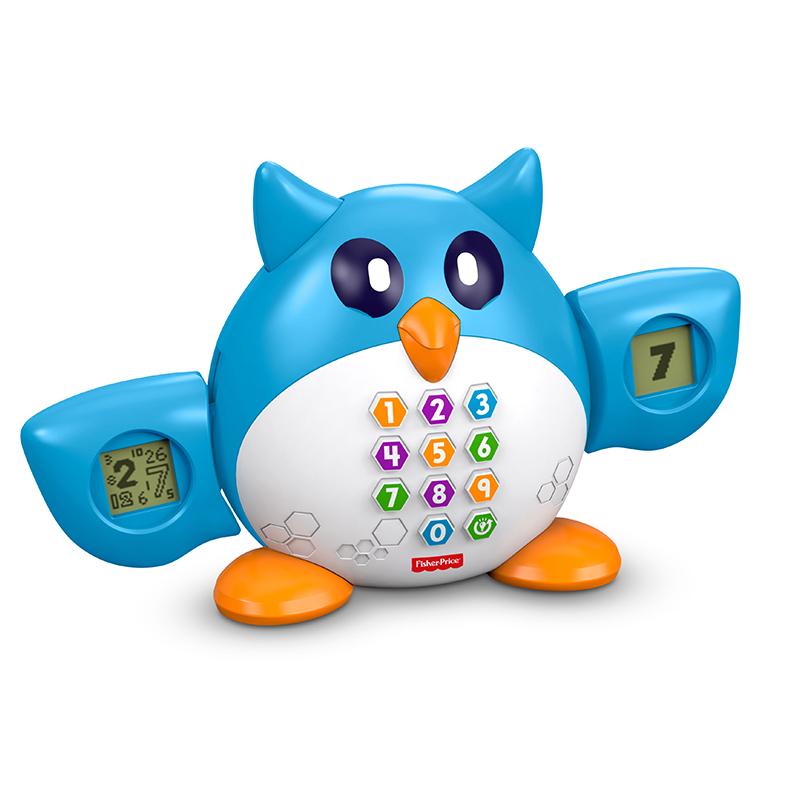 FisherPrice费雪--数学博士猫头鹰