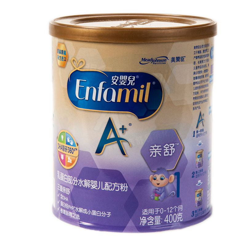 美赞臣--亲舒乳蛋白部分水解婴儿配方奶粉400g/听