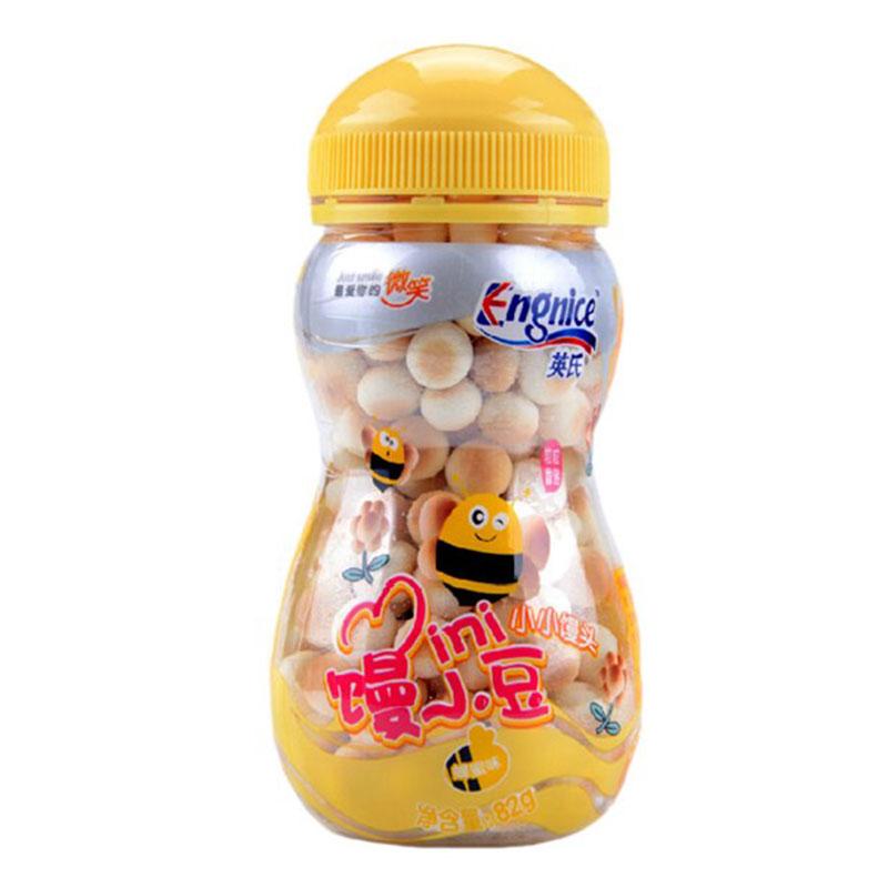 英氏--小小馒头(蜂蜜味)(6月以上)82g/盒