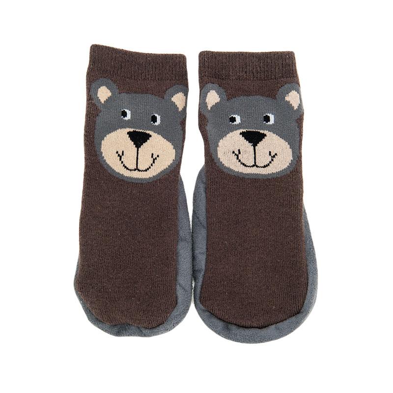 歌瑞贝儿男童小熊地板袜(1双装)