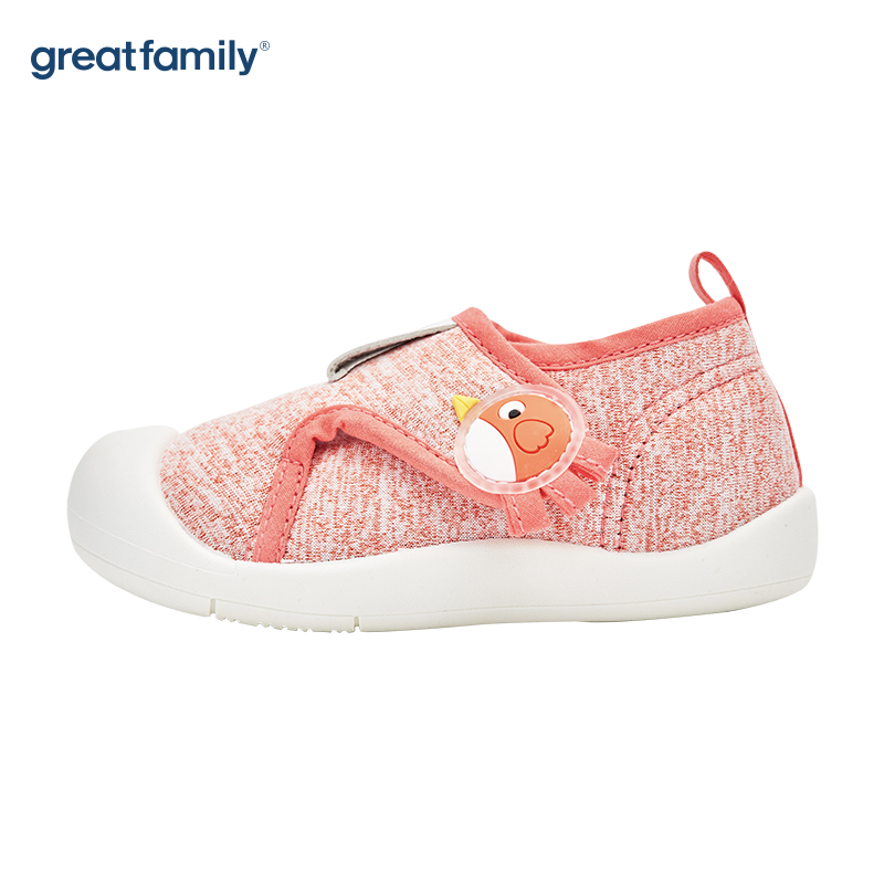 歌瑞家(greatfamily)女婴休闲宝宝鞋GBS4-016SH粉