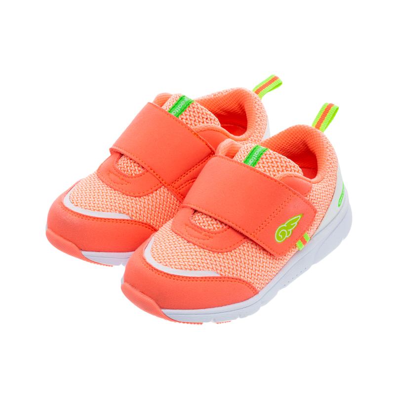 歌瑞家(greatfamily)女婴休闲跑鞋GKS1-006SH橙15CM双