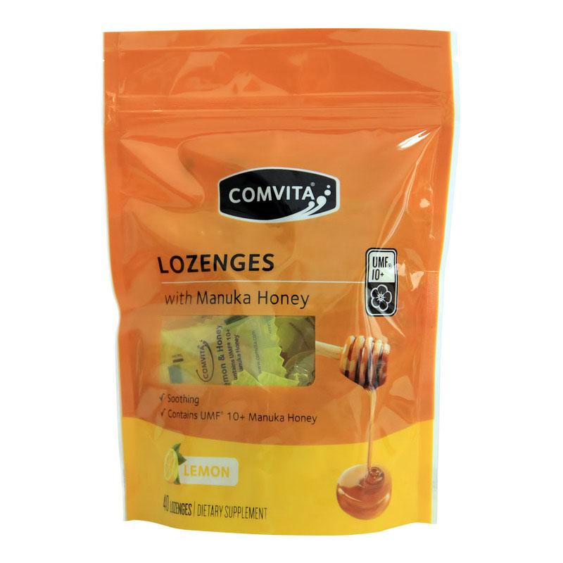 新西兰comvita康维他 麦卢卡UMF10+蜂蜜糖果40粒 柠檬味
