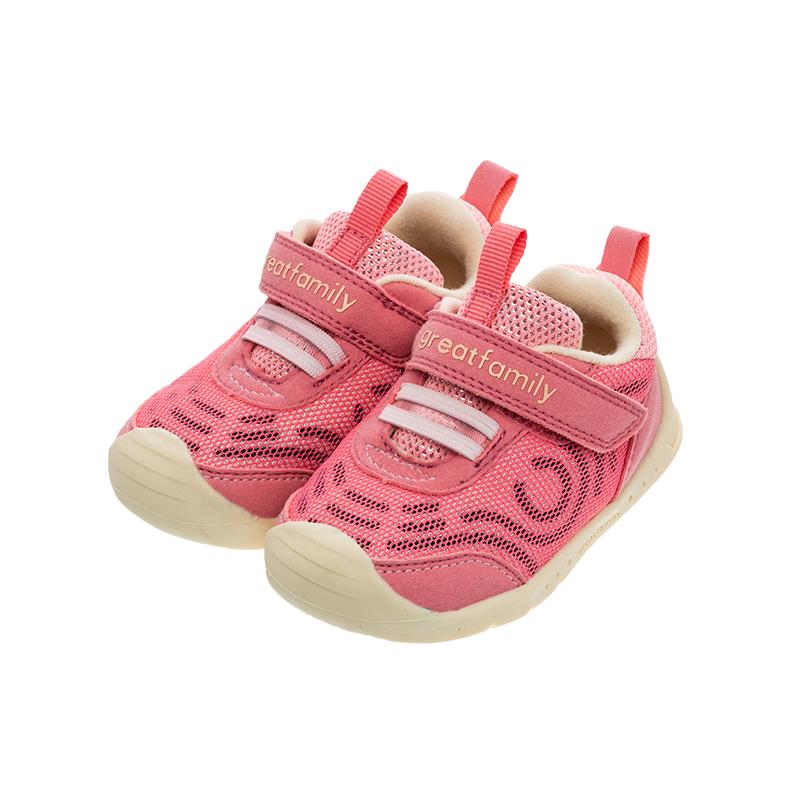 歌瑞家(greatfamily)女婴机能鞋GBS1-033SH粉13CM双