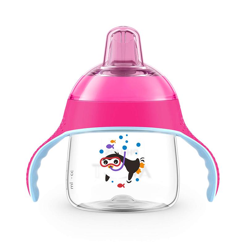 飞利浦新安怡七安士卡通企鹅杯(粉色)