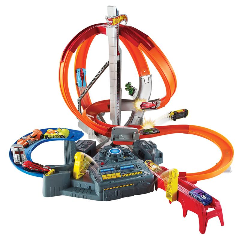 风火轮(Hotwheels)电动极速回旋赛道