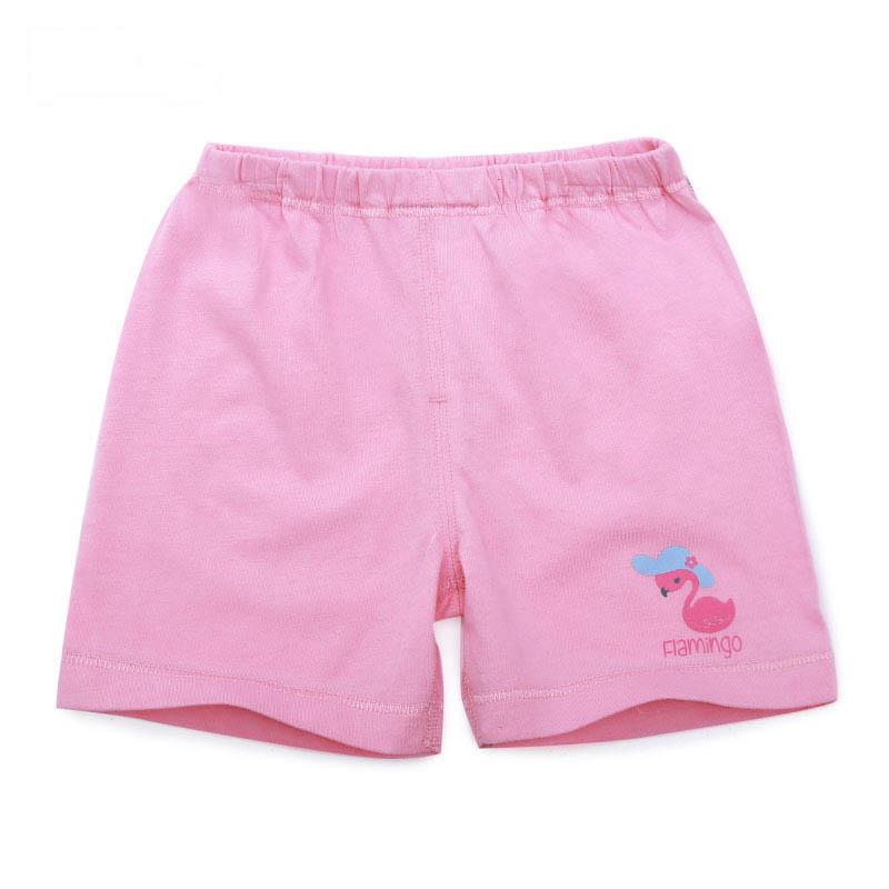 歌瑞家A类女宝宝粉色纯棉短裤
