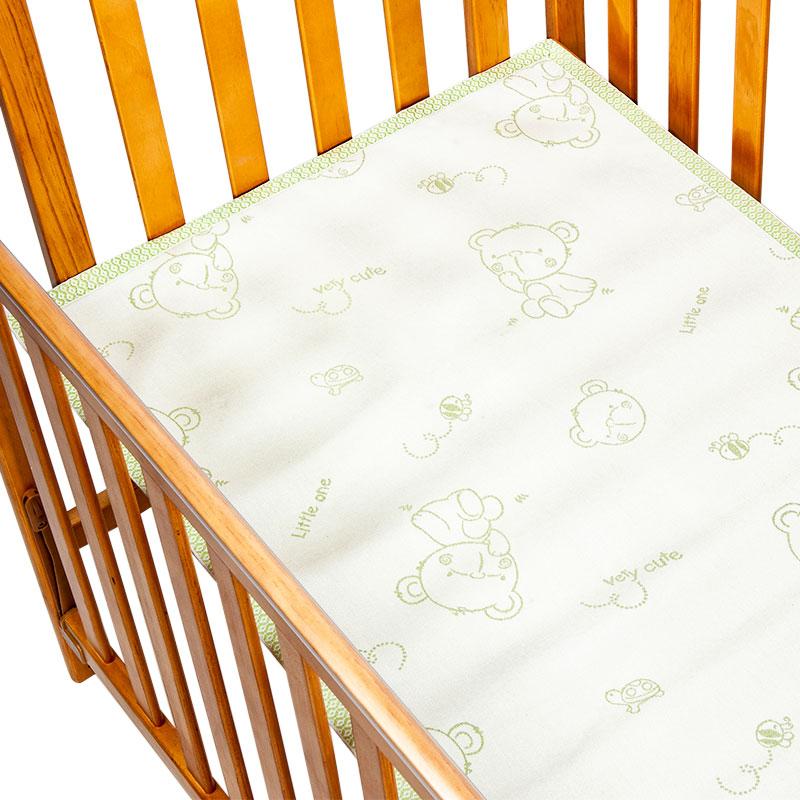 歌瑞贝儿竹纤维床席120*65cm绿