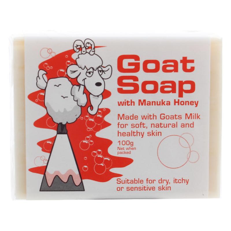Goat麦卢卡蜂蜜味羊奶手工皂100g蜜中珍品,改善肌肤发痒干燥,湿疹等问题