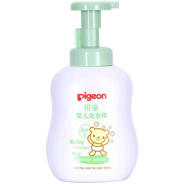 贝亲Pigeon婴儿洗发精500ml泡沫型