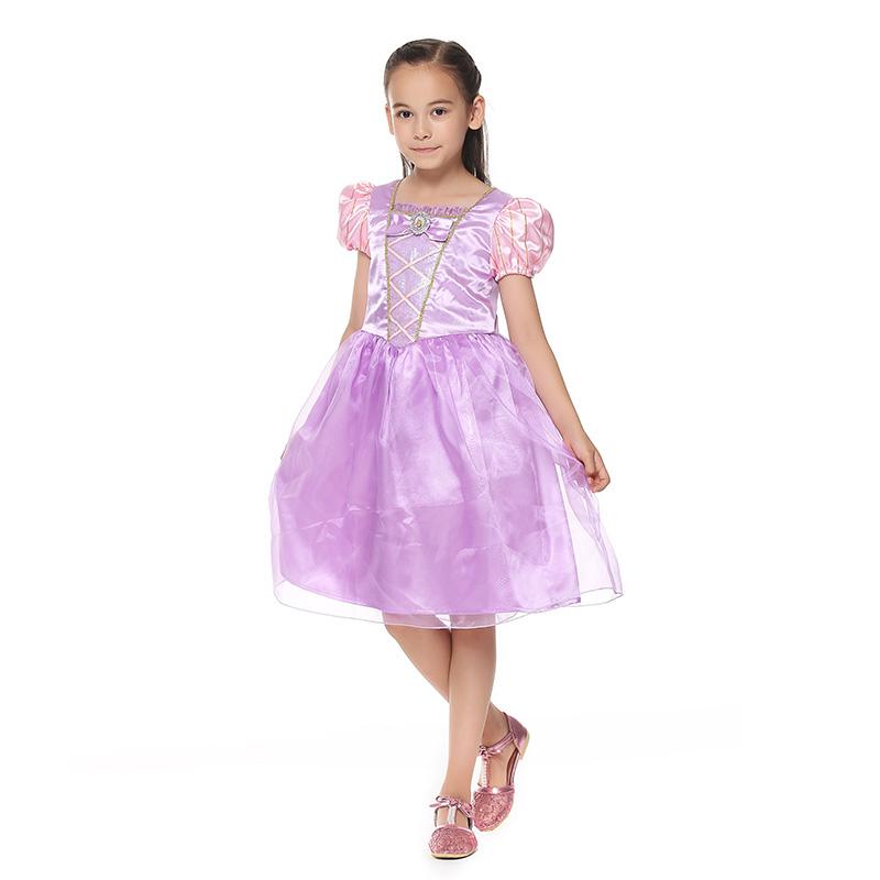迪士尼长发公主紫色