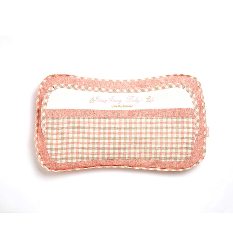 格彩婴幼儿专用枕3号粉色M码