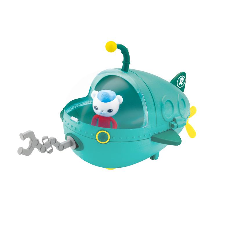 费雪(FisherPrice)海底小纵队灯笼鱼艇探险套装