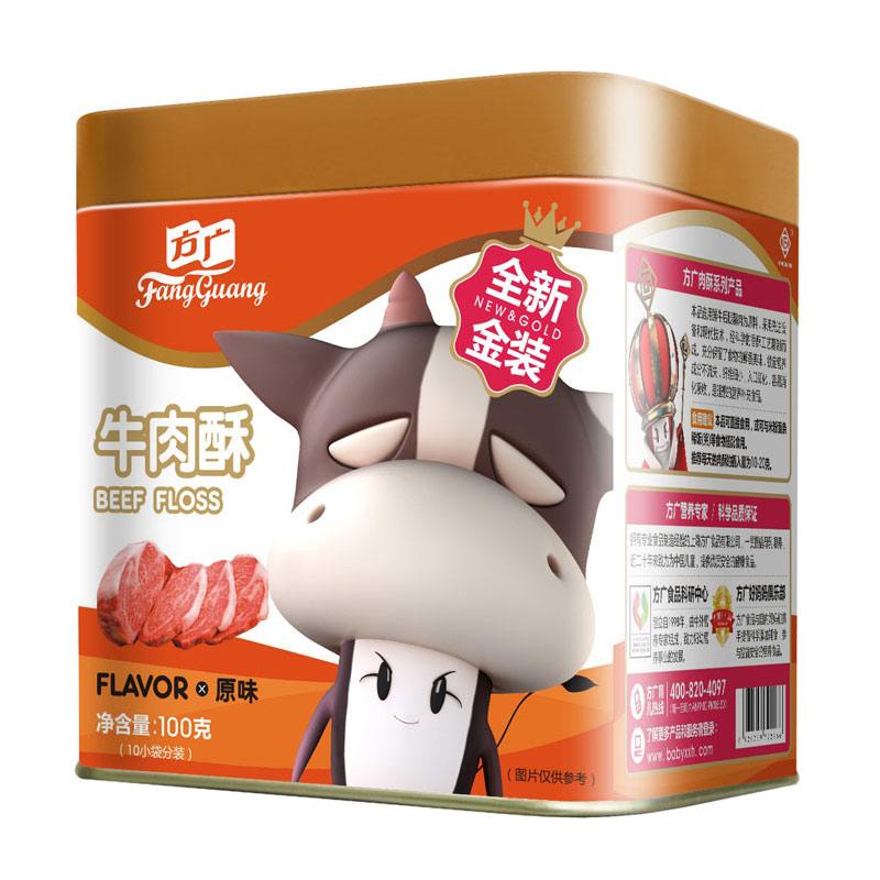 方广牛肉酥原味100g6个月以上