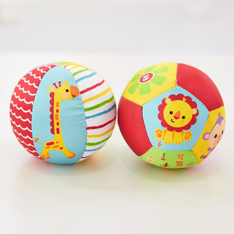 费雪(FisherPrice)动物认知球2个装(款式颜色随机)