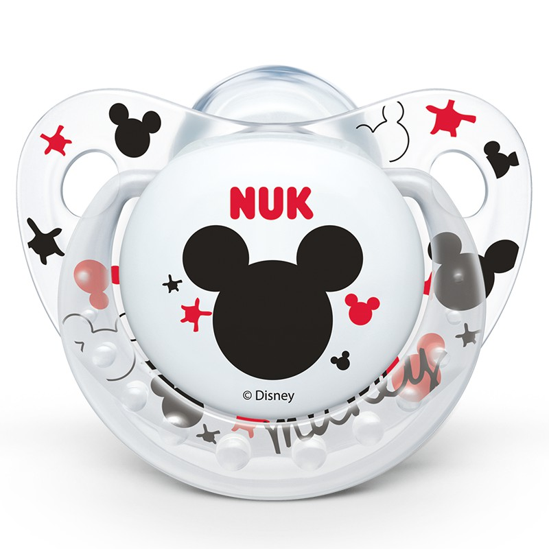 NUK安睡型迪士尼米奇硅胶安抚奶嘴(初生型)
