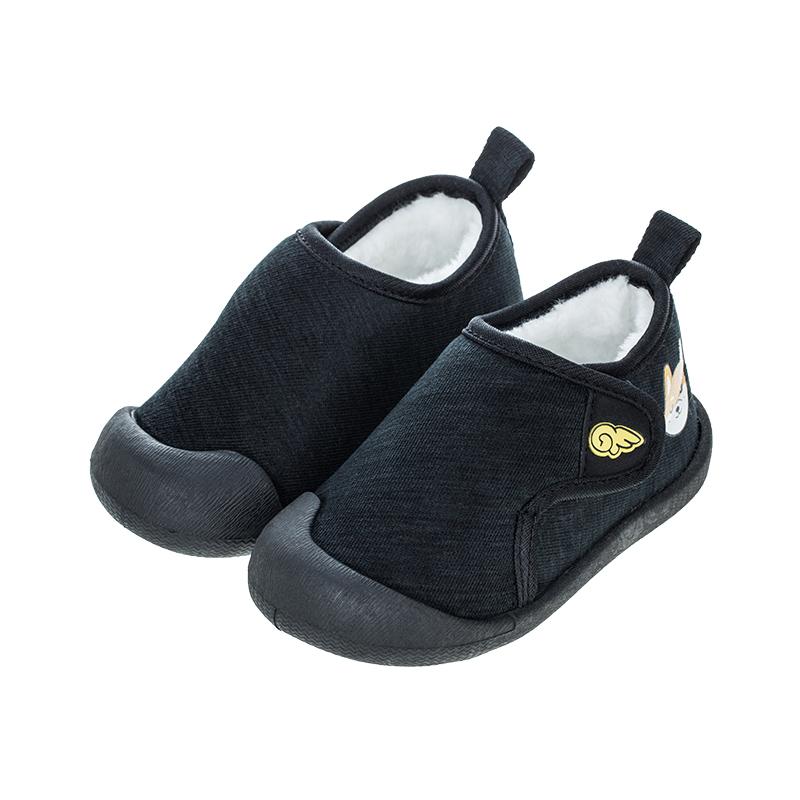 歌瑞贝儿(新)男婴宝宝鞋GBR4-012SH黑15CM双(无鞋盒)