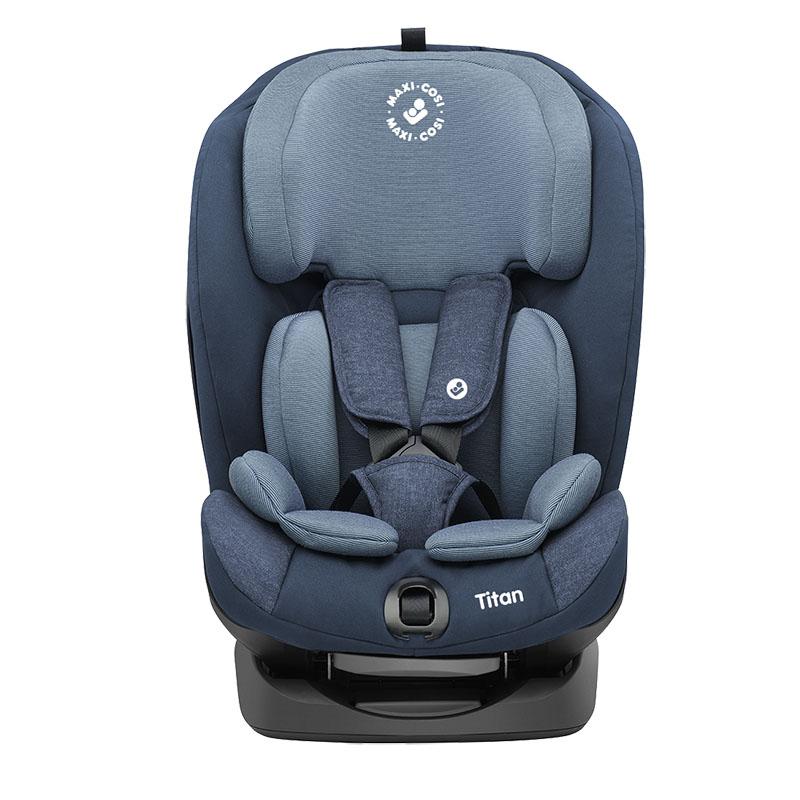 Maxi-cosi迈可适-Titan小巨人G123儿童汽车安全座椅游牧蓝(9-36KG)约9个月-12岁