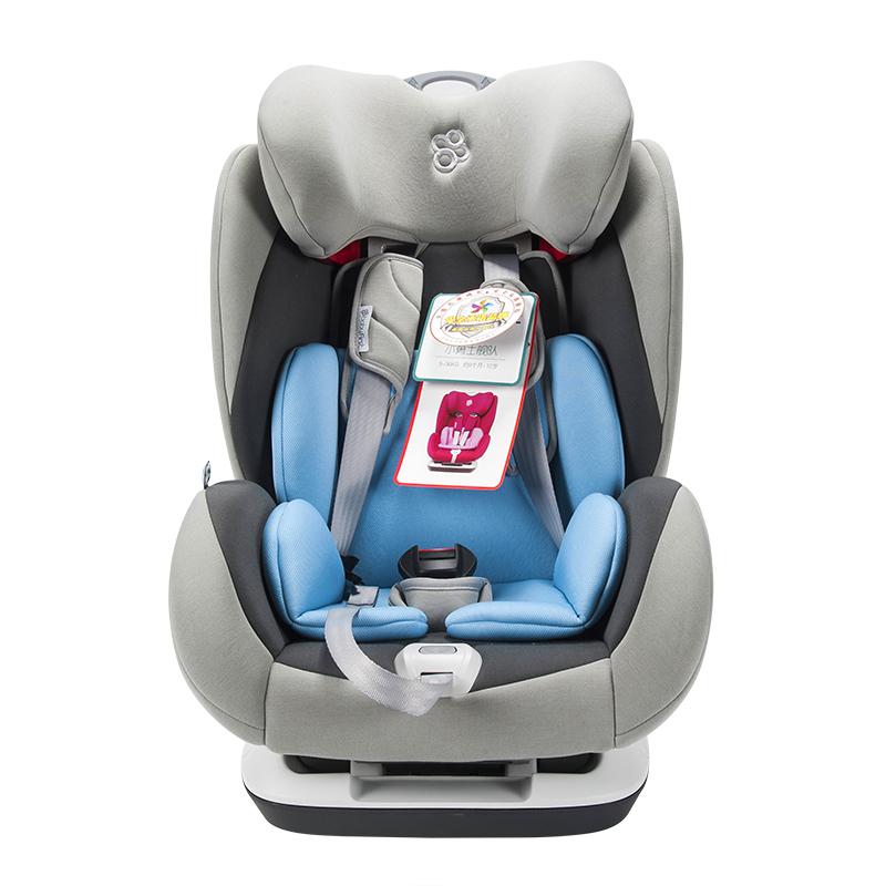 宝贝第一(Babyfirst)儿童安全座椅宝宝座椅小勇士舰队太狼灰
