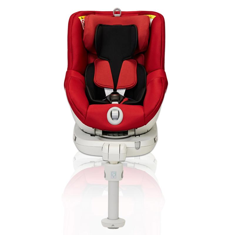 宝得适(Britax)双面骑士宝宝婴儿儿童汽车安全座椅宝宝座椅0-4岁热情红