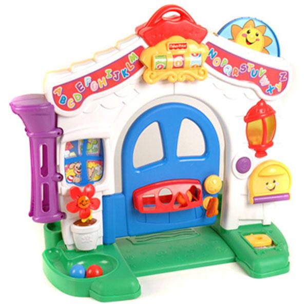 费雪(FisherPrice)宝宝学习屋双语婴幼儿音乐玩具儿童早教益智
