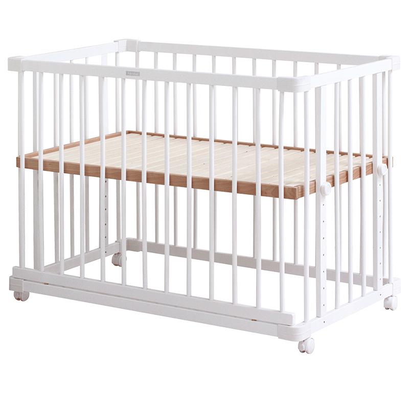 日本farska白色款多功能婴儿床(大床)
