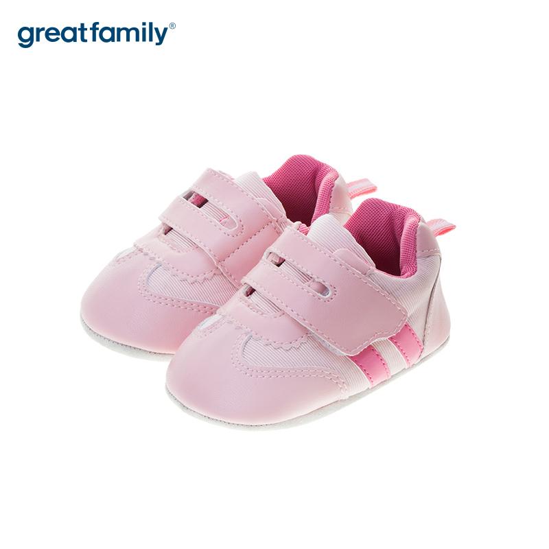 歌瑞贝儿(新)女婴宝宝鞋GB183-004SH粉11CM双