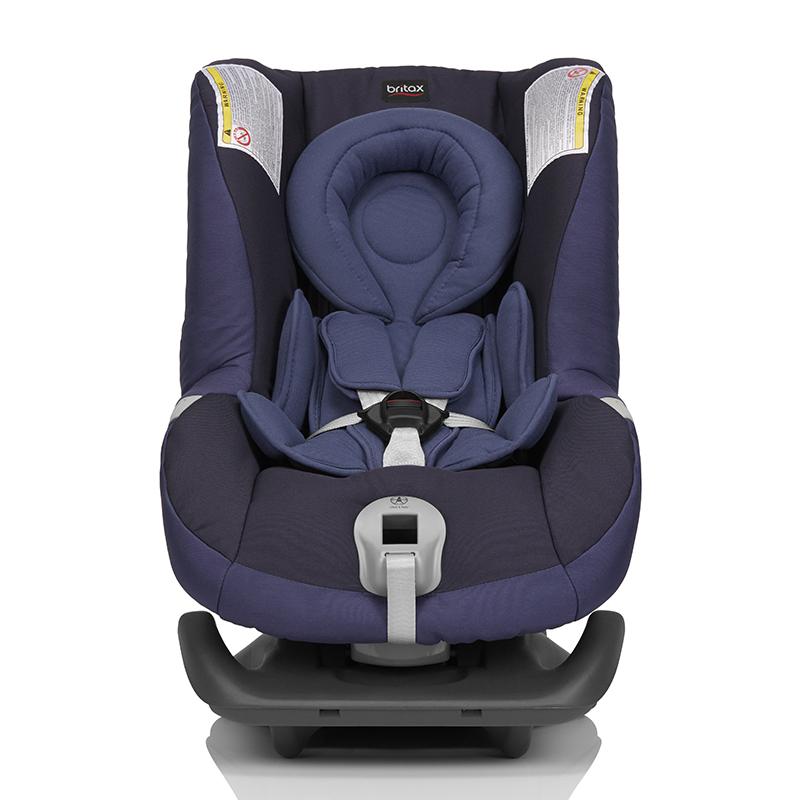 宝得适(Britax)头等舱白金版儿童安全座椅宝宝座椅皇室蓝0-18kg