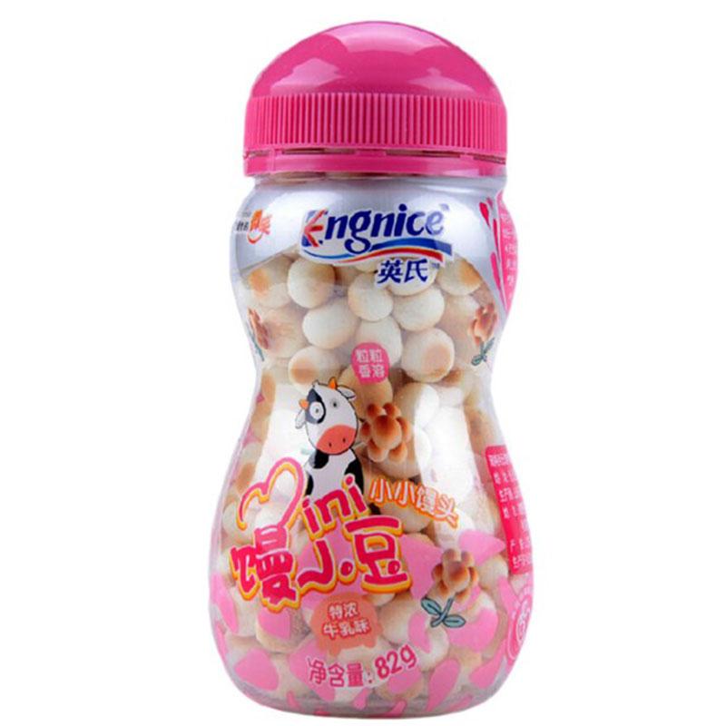 英氏--小小馒头(特浓牛乳味)(6月以上)82g/盒