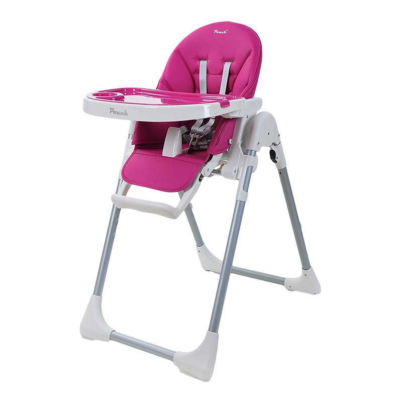 Pouch简约多功能便携婴儿餐椅K06紫色