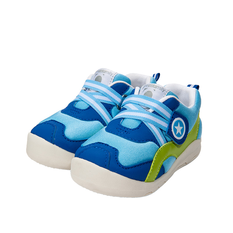 歌瑞家(greatfamily)男婴运动鞋蓝