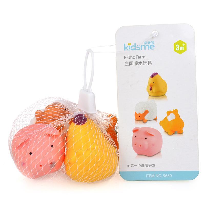 亲亲我庄园喷水玩具宝宝洗澡玩具戏水玩具
