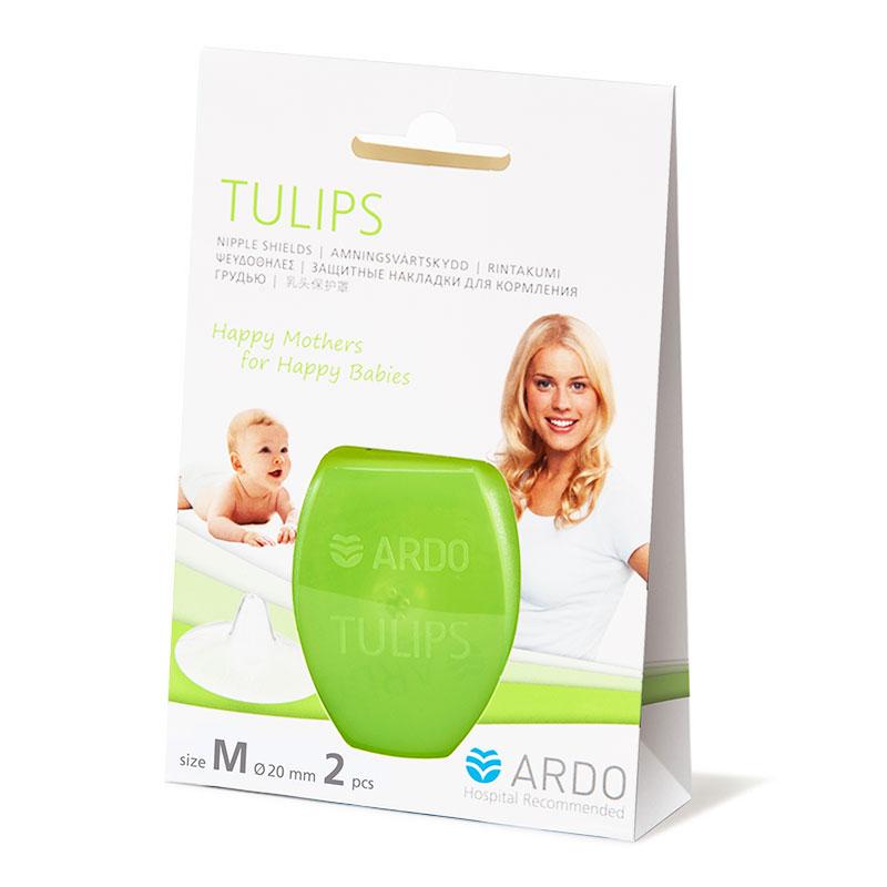 安朵ARDO瑞士进口郁金香乳头保护罩M码天然硅树脂材质圆锥形入口乳头