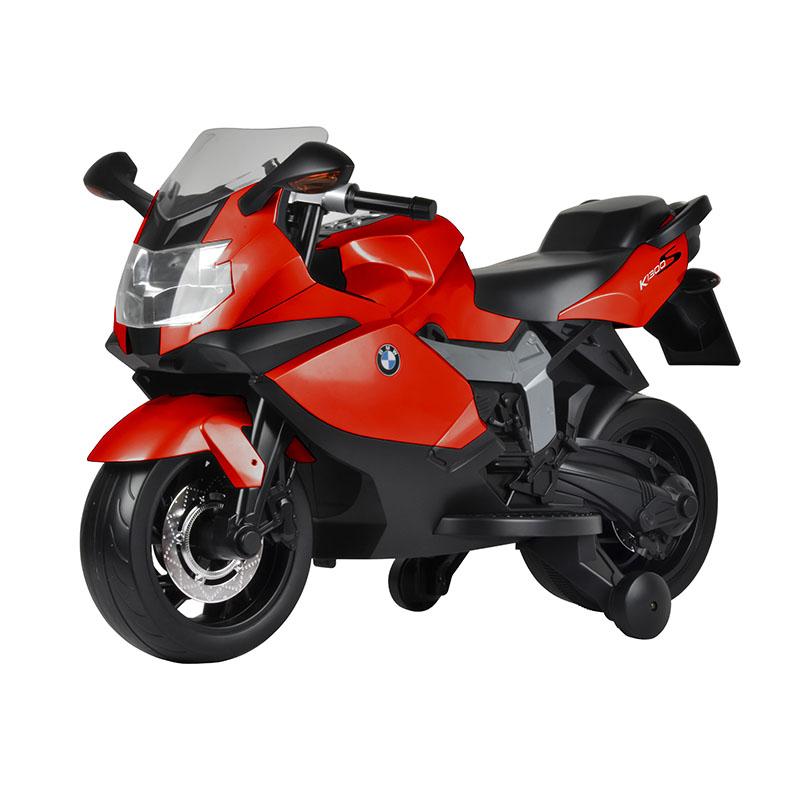智乐堡宝马K1300电动摩托车红色