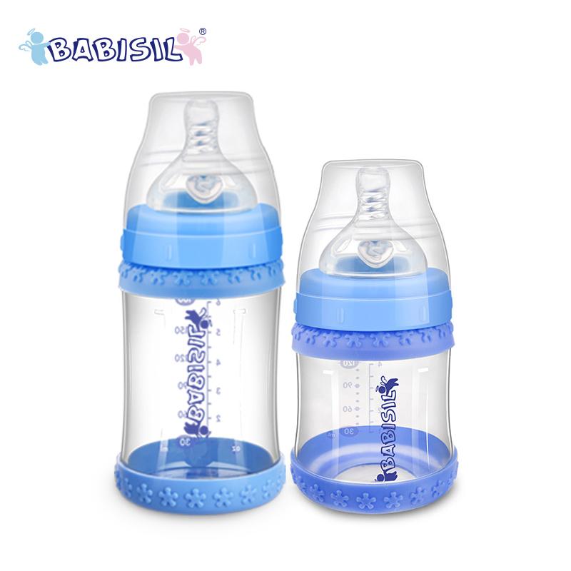 贝儿欣宽口径感温玻璃初生奶瓶套装
