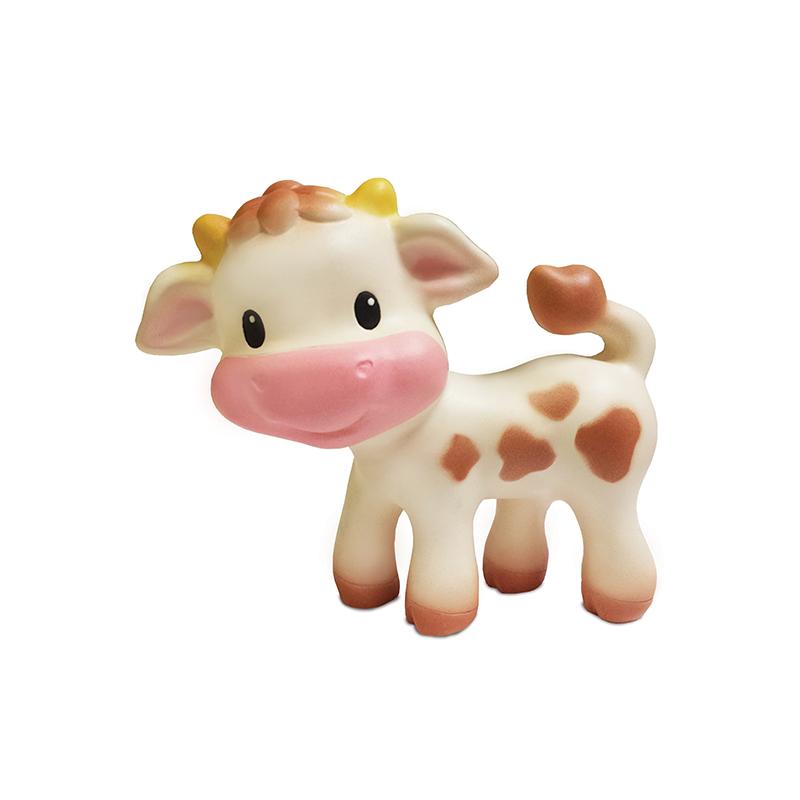 infantino 婴蒂诺奶牛宝宝牙胶 适用于0个月以上 005006