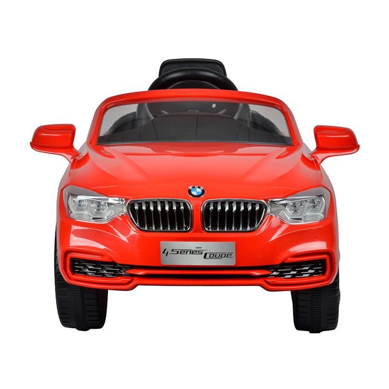 智乐堡宝马4系电动车(单驱)红色
